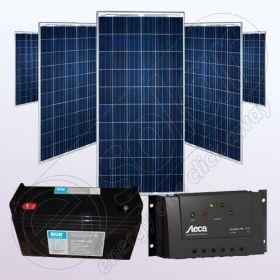 Kit fotovoltaic policristalin rezidential IPP200Wx5-Tarom235-35Ah-100Ah