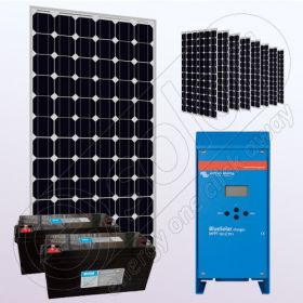 Kit solar fotovoltaic stand alone IPM200Wx9-VICMPPT70Ah-150Ahx2