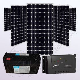 Kituri fotovoltaice stand alone rezidentiale IPM200Wx5-Tarom235-35Ah-100Ah