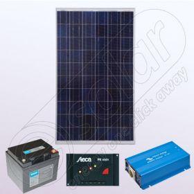 Kituri solare de sine statatoare cu invertor IPP100W-350W-12V-5A-33Ah