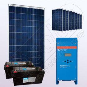 Kituri solare fotovoltaice de sine statatoare IPP200Wx9-VICMPPT70Ah-150Ahx2