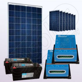 Kituri solare fotovoltaice independente IPP200Wx8-VICMPPT40Ahx2-150Ahx2