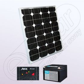 Sistem solar fotovoltaic independent rezidential IPM30W-12V-3A-33Ah