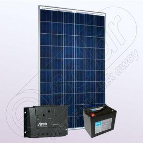 Sisteme fotovoltaice policristaline pentru case IPP200W-8.8F-8A-76Ah