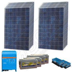 Instalatie fotovoltaica stand alone de 3kW putere instalata