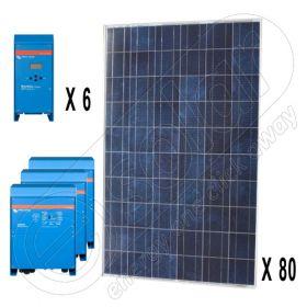 Kituri fotovoltaice off-grid trifazate de 20kW putere instalata