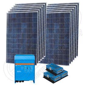 Kituri solare stand alone de 3kW putere instalata