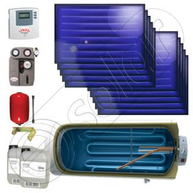 Panouri solare pachet ISMO 10x1 - 1000.1BMH