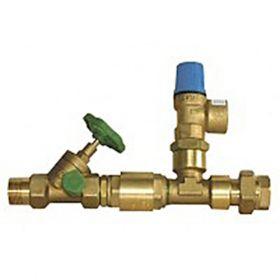 Grup de siguranta pentru boilere fara reductor de presiune