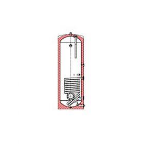 Rezervorul de stocare a apei calde Ideval IDVL-DUOCELL 400.1 cu capac de izolare