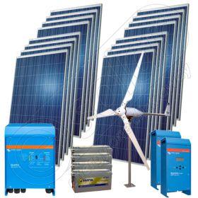 Sisteme hibride cu turbine eoliene 5KW-Hi-QVM