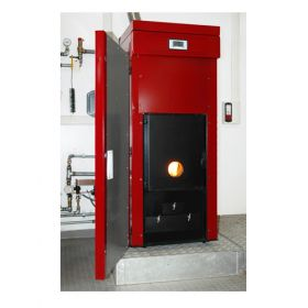 Cazan pe peleti Noritias 20 kW cu eficienta ridicata