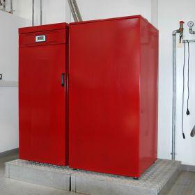 Cazan pe peleti Noritias 20 kW cu eficienta ridicata 2