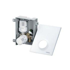 Cutie cu robinet termostatic Oventrop si ventil Unibox Plus pentru pardoseala