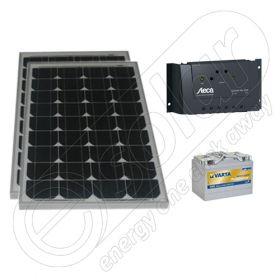 Generator solar portabil pentru pescuit 12V 330Wh