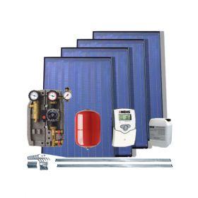 Kit Solar IFST 2.08 cu 4 panouri solare plane fara boiler