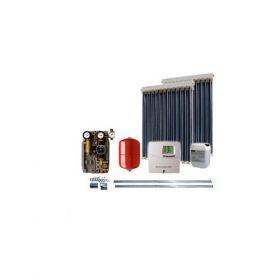 Kit cu 2 panouri solare IFVS 18 pentru incalzirea apei si aport la incalzirea casei