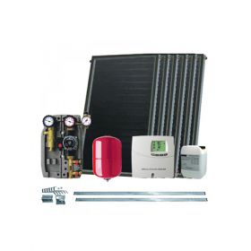 Kit cu 6 panouri solare plane IFST 2,05/2,54 fara boiler solar