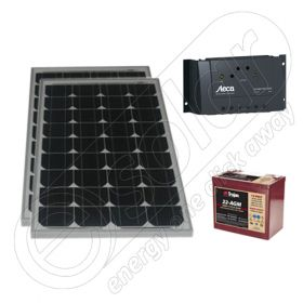 Kit fotovoltaic mobil aplicatii mici 12V 330Wh