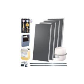 Kit solar IFST 2.02 cu patru panouri solare si set de montare pentru acoperis