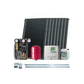 Kit solar pentru apa calda cu 8 panouri solare IFST 2,05/2,54 fara boiler