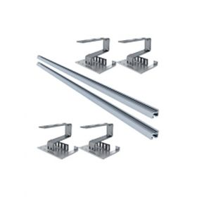 Kit structura de montaj panouri solare IFVS 12 pentru montarea pe acoperis din tabla sau tigla