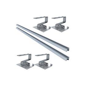 Kit structura de montaj panouri solare IFVS 18 pentru montarea pe acoperisuri diverse