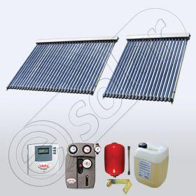 Pachetele de panouri solare cu tuburi vidate pentru apa calda menajera SIU 1x20-1x30