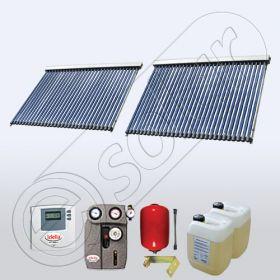 Seturi de panouri solare apa calda produse in China SIU 2x30 pentru tot timpul anului