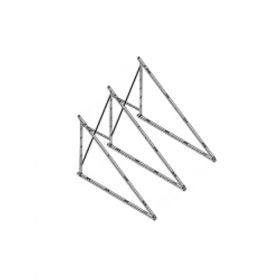 Structura de montaj pentru acoperis la 30° pentru panouri solare Iunona 220 si Iunona 300
