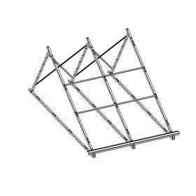 Structura de montaj pentru acoperis la 45° pentru panouri solare Iunona 220 si Iunona 300