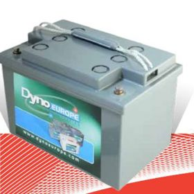 Acumulator panou fotovolaic cu tehnologie GEL Dyno Europe 12v80D