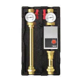 Circuit de incalzire Wilo 11 cu doua termometre pentru incalzirea casei