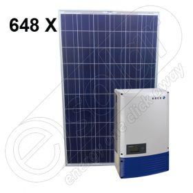 Instalatie fotovoltaica pentru casa cu invertor on-grid de 160 KW 4x Powador 40.0