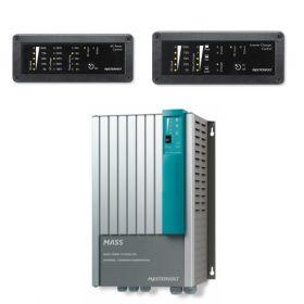 Invertoare fotovoltaice monofazate 12V-230V MasterVolt pentru sisteme solare cu telecomanda de control si monitorizare