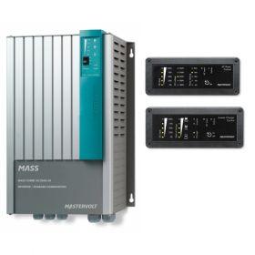 Invertoare fotovoltaice sinusoidale 24V-230V MasterVolt pentru instalatii solare cu telecomanda de control si monitorizare integrata