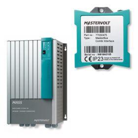 Invertor unda pura 12V-230V MasterVolt pentru fotovoltaice cu interfata MasterBus Combi inclusa