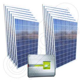 kit panouri fotovoltaice certificat on grid 3 kw cu. Black Bedroom Furniture Sets. Home Design Ideas