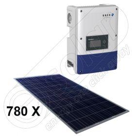 Sisteme complete panouri fotovoltaice si invertor on-grid pentru retea de 200 KW 10x Powador 20.0