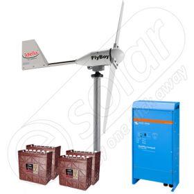 Centrala eoliana completa pentru sisteme de irigatii de 600W putere instalata