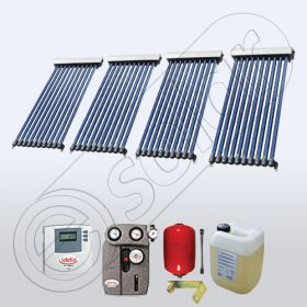 Panouri solare pentru apa calda menajera, Pachet panouri solare cu tuburi vidate, Set colectoare solare fabricate in China SIU 4x10