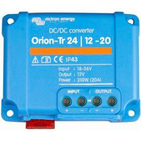 Convertoare DC/DC de tensiune baterii sisteme fotovoltaice Orion-Tr 24/12-20A (240W) Victron