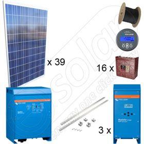 Instalatie sistem fotovoltaic cu productie de 35kWh media zilnica anuala cu montaj la cheie