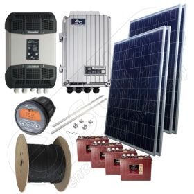 Instalatie solara fotovoltaica cu montaj inclus de 1kW putere instalata cu garantie panouri solare de 12 ani