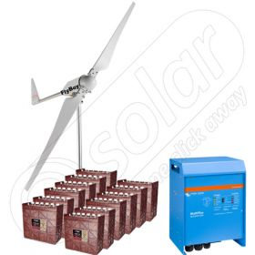 Instalatii cu turbine eoliene pentru irigatii in agricultura cu puterea de 3kW cu garantie turbina eoliana de 3 ani