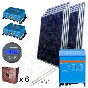 Kit fotovoltaic solar pentru irigatii agricole de 2kW putere instalata