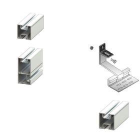 Kit structura de prindere panouri fotovoltaice pentru acoperis inclinat din tigla sau tabla de 10 kW putere instalata 2