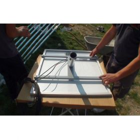 Stalp fotovoltaic de iluminat cu LED-uri PV-4M 9