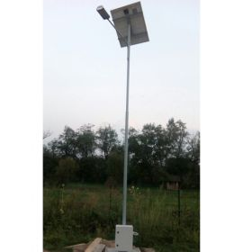 Stalpi de iluminat solar echipati complet PV-3M 6