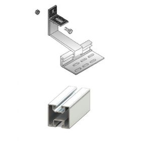 Structura pentru 24 de panouri solare de 6kW pentru acoperis inclinat din tigla sau tabla 2